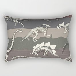 Dinosaur's Dig Rectangular Pillow