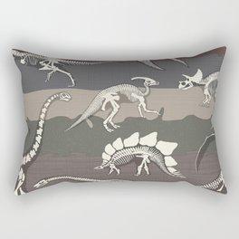 Dinosaur's Dig Rectangular Pillow