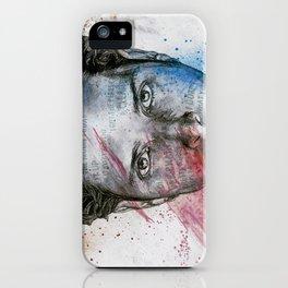 Pretty Noose: Red & Blue iPhone Case