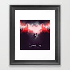 Archetype: Goliath Framed Art Print