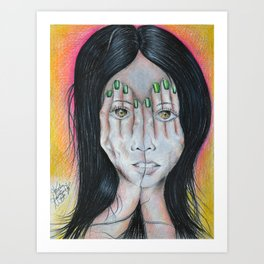 What Lies Beneath Art Print