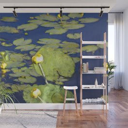 Lily Pad Pond Wall Mural