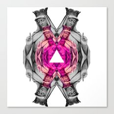 ❤ Pink Mary ❤ Canvas Print
