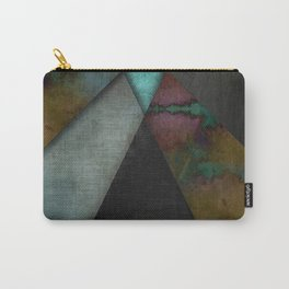 """""""Grunge metal pattern"""" Carry-All Pouch"""