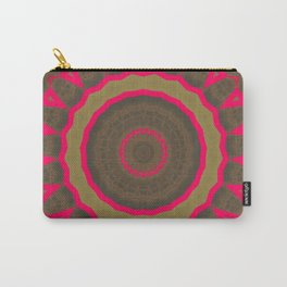 Pinkbrown Mandala 1 Carry-All Pouch
