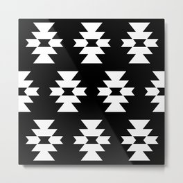 Southwestern Pattern 328 Metal Print