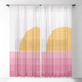 Sunseeker 15 Landscape Sheer Curtain