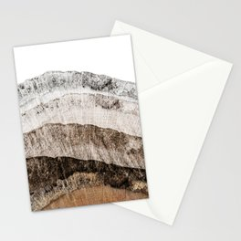 Tree Slice Abstract  Stationery Cards
