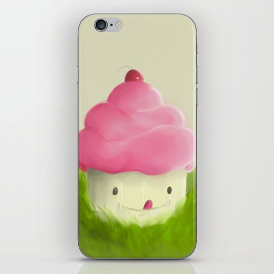Go play with your cupcake iPhone Skin
