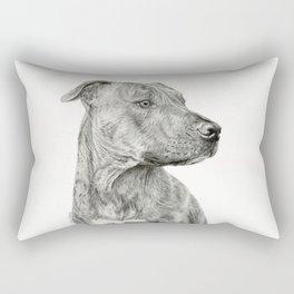 Ittie Bittie Pittie Rectangular Pillow