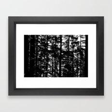 straight Framed Art Print