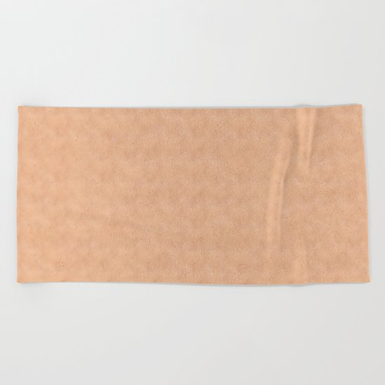 Skin Style Texture With Freckles Beach Towel