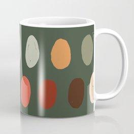 Hand drawn pastel dots pattern Coffee Mug