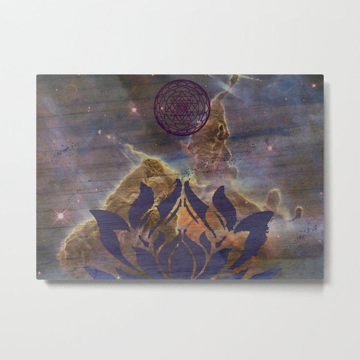 Sri Carina Metal Print