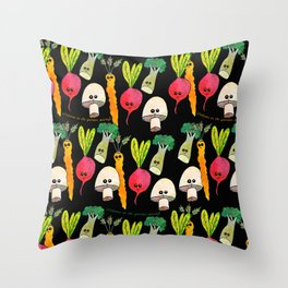 Welcome to the Garden Party Throw Pillow