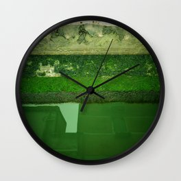 green venice Wall Clock