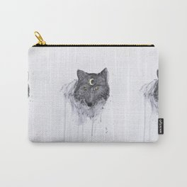 the wolf and the moon Carry-All Pouch