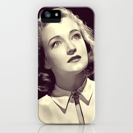 Nina Foch iPhone Case