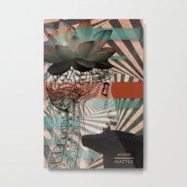 Mind/Matter Metal Print