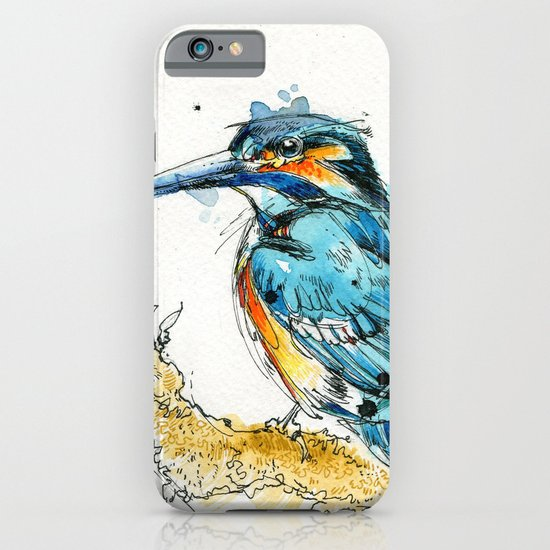 Regal Kingfisher iPhone & iPod Case