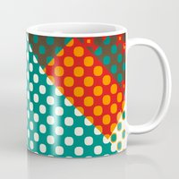dots Mugs featuring Dots by SensualPatterns