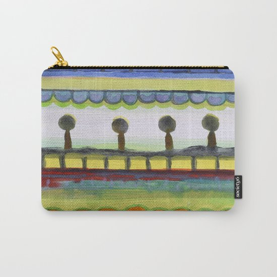 The Seaside Promenade Carry-All Pouch