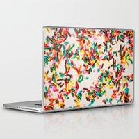sprinkles Laptop & iPad Skins featuring Sprinkles  by Laura Ruth