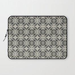 Moroccan Tile Surface Pattern Laptop Sleeve