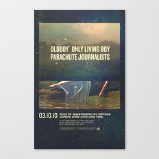 Parachute Journalists - Questioning My Motives Canvas Print