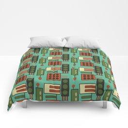 Retro Geodesic Comforters