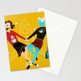 Lux and Margo: When In Coach Stationery Cards