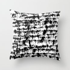 Black Pattern#2 Throw Pillow