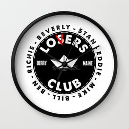 The Losers Lover Club Wall Clock