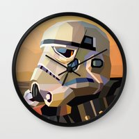 sand Wall Clocks featuring Sand by Liam Brazier