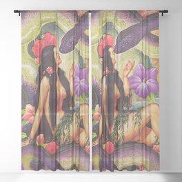 Forbidden Love Sheer Curtain