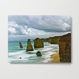 The Great Ocean Road. Metal Print