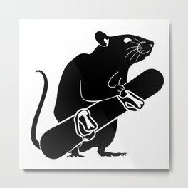 Park Rat left Metal Print