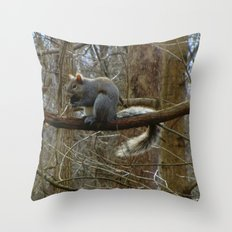 Nuts about You Throw Pillow
