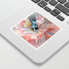 Digital Poppy Sticker