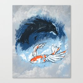 Ocean of Sky Canvas Print