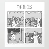 Moonbeard - Eye Tricks Art Print