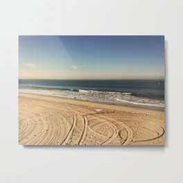 Muscle Beach Santa Monica Metal Print
