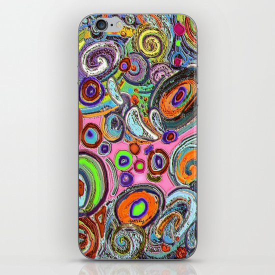 Abstracto Rocoso iPhone Skin