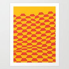 Foundry Sun —Matthew Korbel-Bowers Art Print