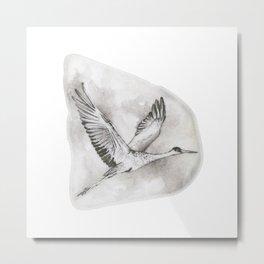 Sandhill Crane by annmariescreations Metal Print