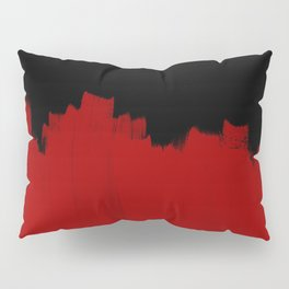 Red Impact Pillow Sham