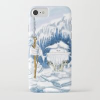 yeti iPhone & iPod Cases featuring Yeti by Juan Pablo Cornejo