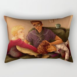 Triumvirate Rectangular Pillow