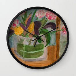 From Elizabeth to Mom Wall Clock