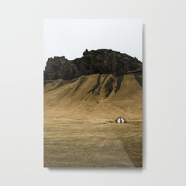 Little Shack Metal Print